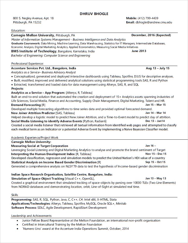 2016 05 13 20_48_24 Bhogle_Dhruv Resume.pdf   Adobe Acrobat Reader  Machine Learning Resume